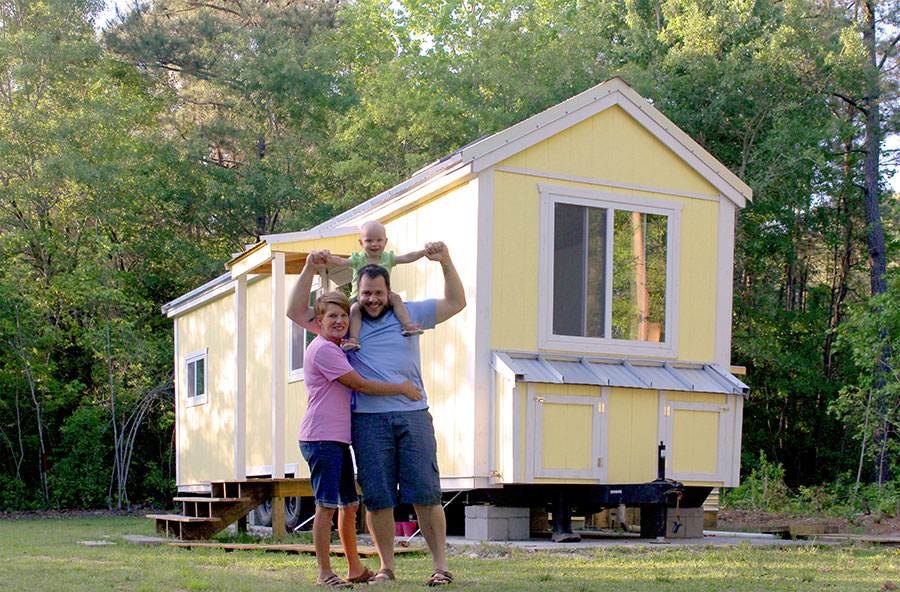 Odom Family tiny house