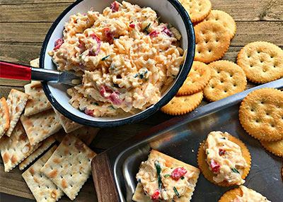 Creamy Swiss Pimento Cheese