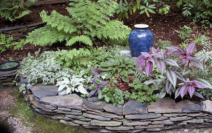 Raised Bed Dry Stacked Stone