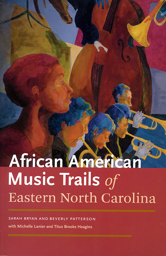 Book Cover African American Music Trails of Eastern North Carolina