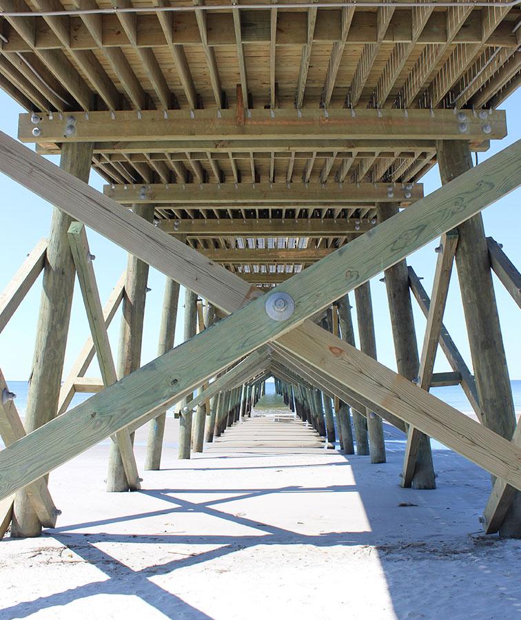 Oak Island Pier is Open for Business - Carolina Country