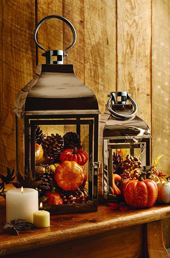 lantern - Harvest Decor