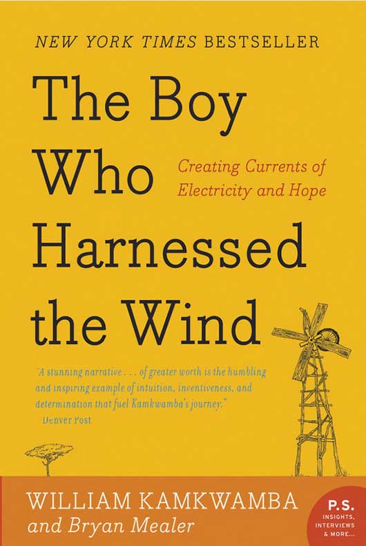 book cover harness the wind