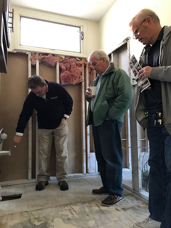 energy improvements for flooded homes