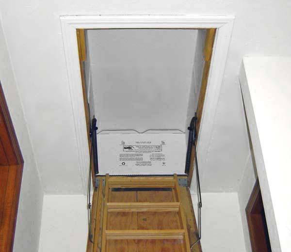 Sealing in savings. This shows the assembled Battic Door ... & Sealing in savings - Carolina Country