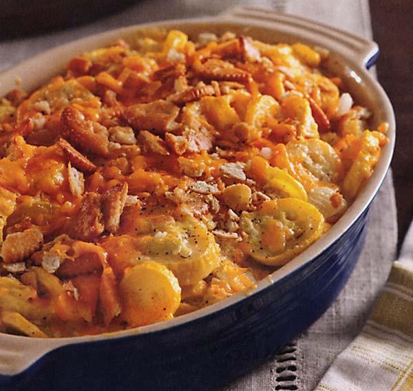 Old fashioned squash casserole