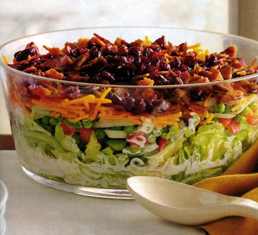 Overnight Layered Lettuce Salad Carolina Country