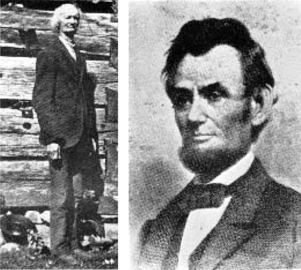 abraham lincoln mother and father