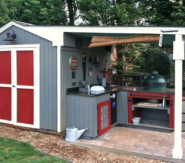 Man Cave Shed Designs : Man cave carolina country