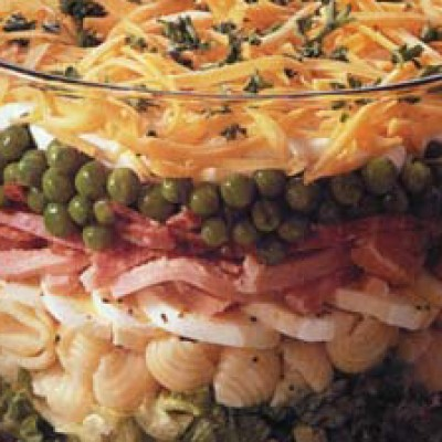 Hearty Eight-Layer Salad