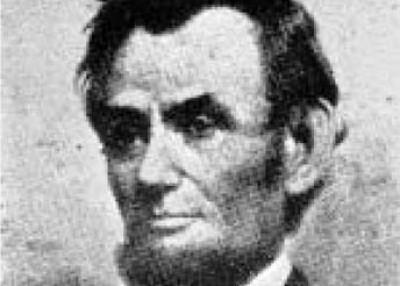 Was Abraham Lincoln born in western North Carolina?