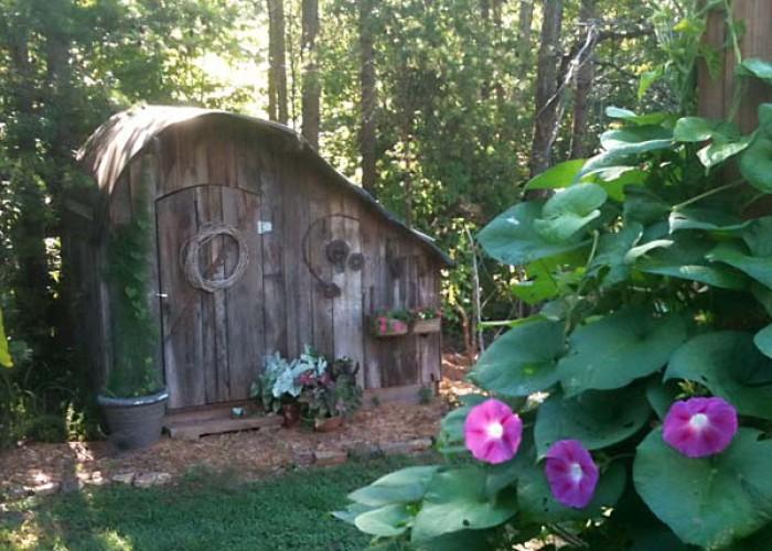 Memorial shed
