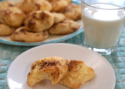 Angel Food Cheesecake Cookies