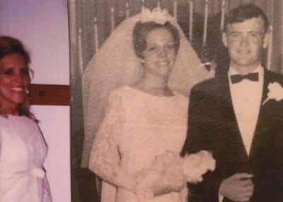 A Wedding Dress and Precious Memories