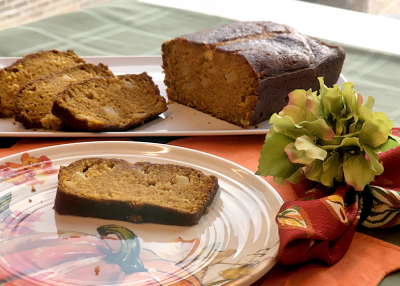 Spiced Pumpkin Apple Loaf