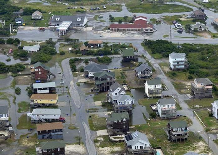 An early Hurricane Arthur slammed the coast July 4