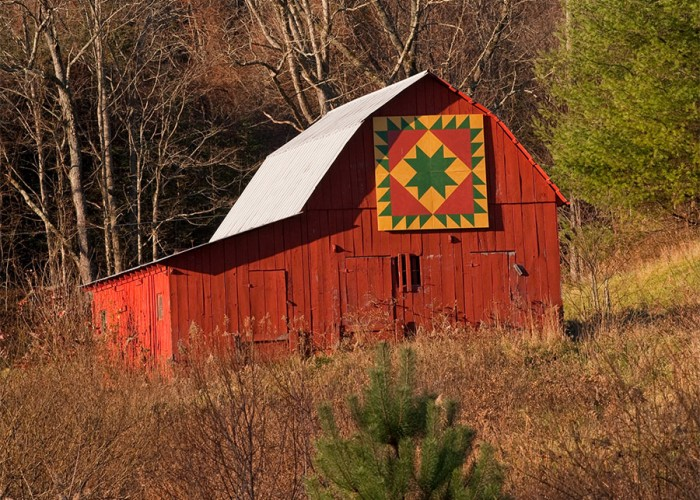 Explore NC's Barn Quilt Trail