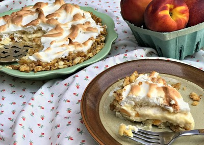 Peach on the (Atlantic) Beach Pie