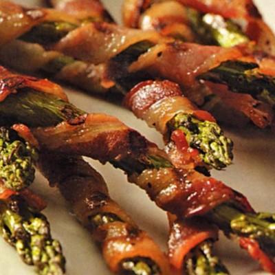 Bacon-wrapped Asparagus