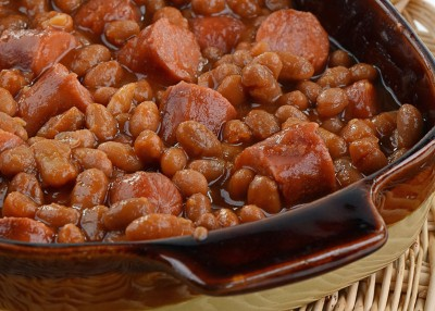 All-in-One Baked Beans & Franks