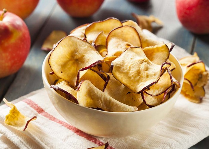 Crunchy Apple Popcorn