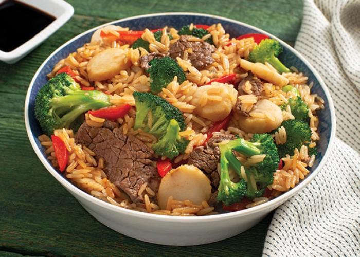 Beef & Broccoli Garlic Rice