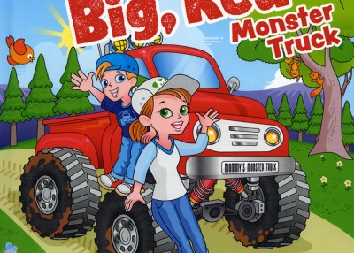 A Good Read: Mommy's Big, Red Monster Truck