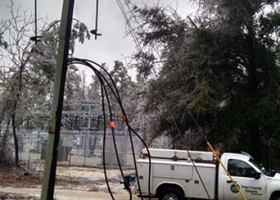 Winter storms challenge electric co-op systems