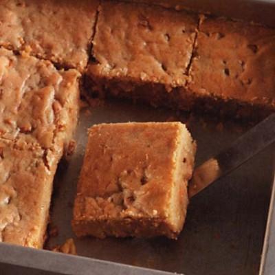 Butterscotch-Walnut Blondies