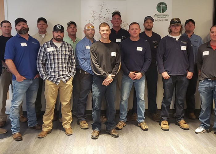 NC Co-op Linemen Volunteer for Brighter World Initiative