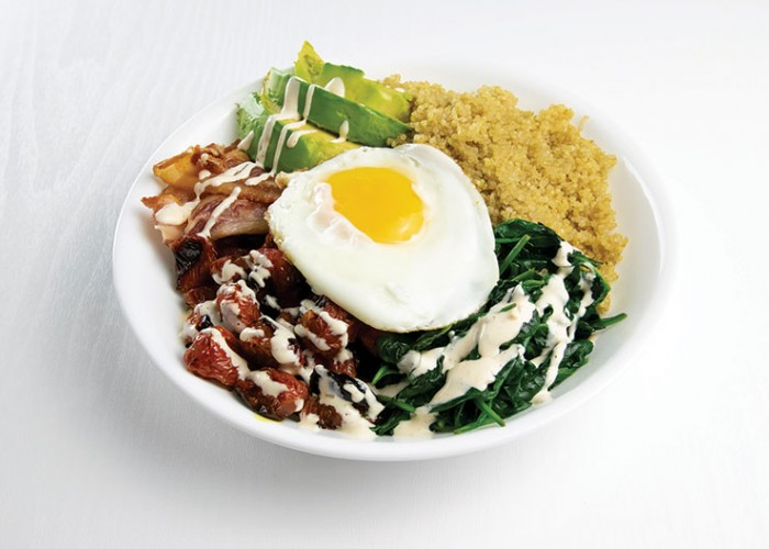 Breakfast Salad Bowl