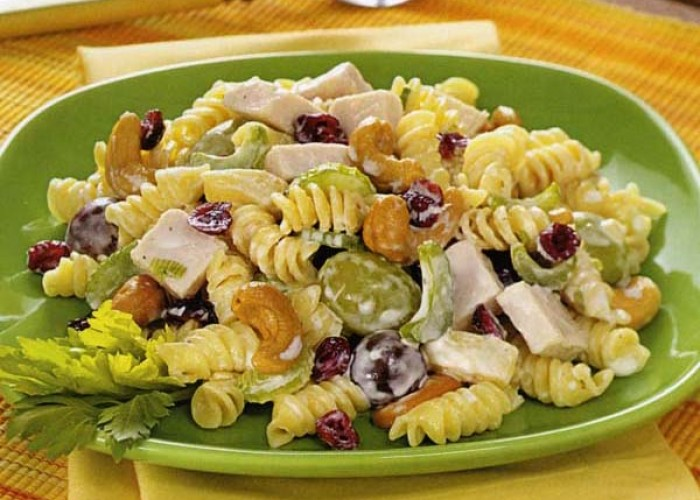 Cashew Chicken Rotini Salad