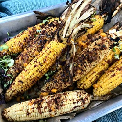 Cheery Grilled Corn