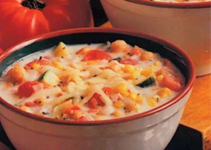 Oven Cheese Chowder