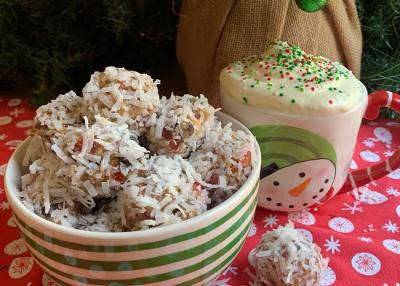 Christmas Fruit Balls