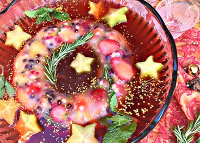 Christmas Cheerwine Punch