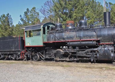 A beloved steam locomotive comes home