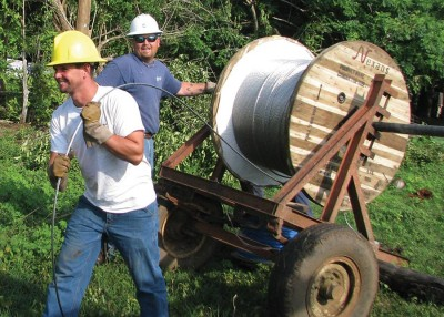 Electric cooperatives without borders