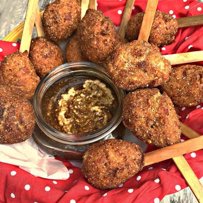 Country Ham Lollipups