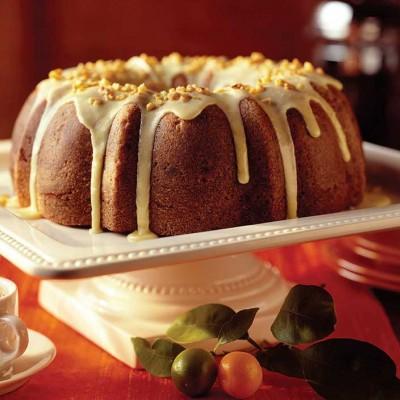 Cranberry-Beet Bundt Cake
