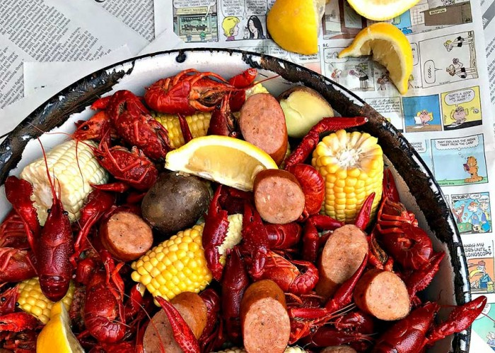 Crawfish Boil for Two
