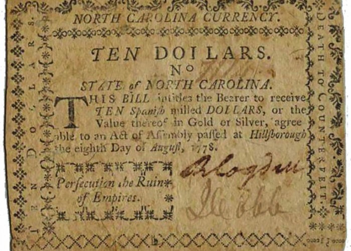 Do You Know…about N.C.'s first press?
