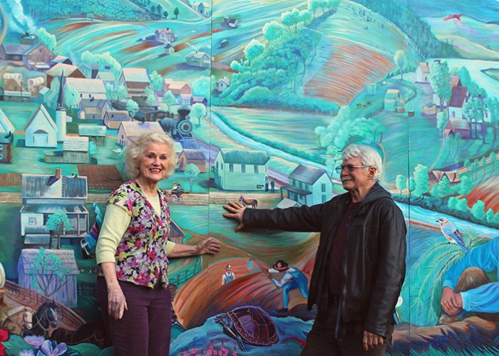 NC Murals Create 'Art for the People'