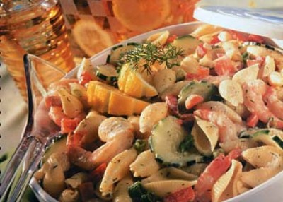 Dilly Seafood Pasta Salad
