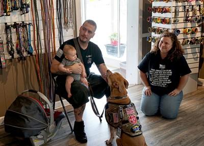 EnergyUnited Funds Veteran Service Dog Training