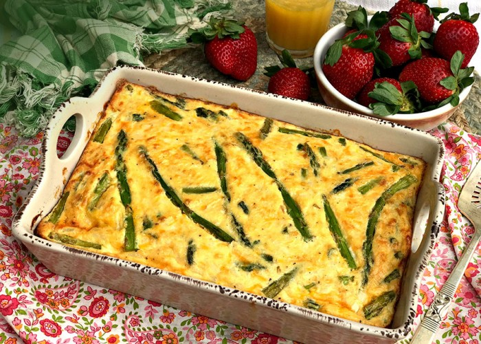 Easter Brunch Asparagus Casserole