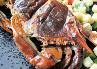 Easy Grilled Soft-Shell Crabs