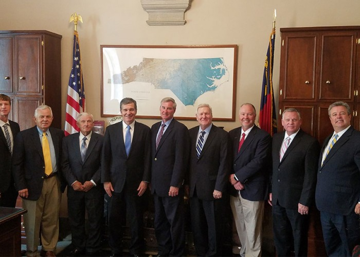 Electric Co-op Leaders Meet with Gov. Roy Cooper