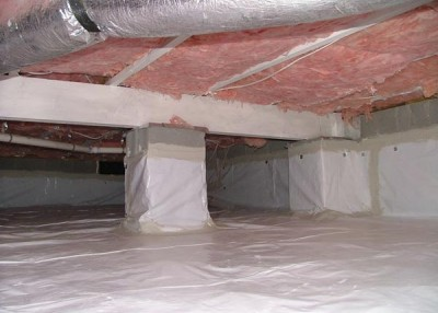 Sprucing up the crawlspace could bring a breath of fresh air