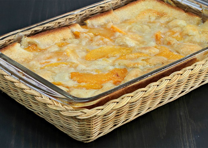 Very Best Peach Cobbler